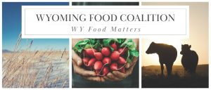 Wyoming Food Coalition Logo WY Food Matters